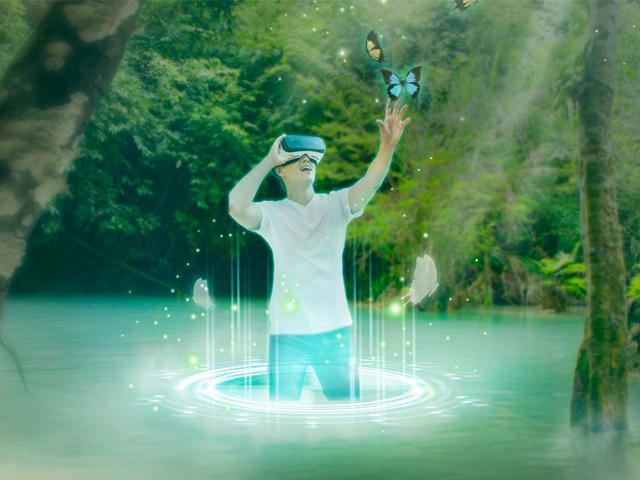 未来科技VR虚拟现实海报