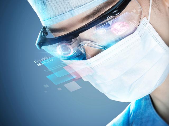未来科技医学医疗高质量合成海报